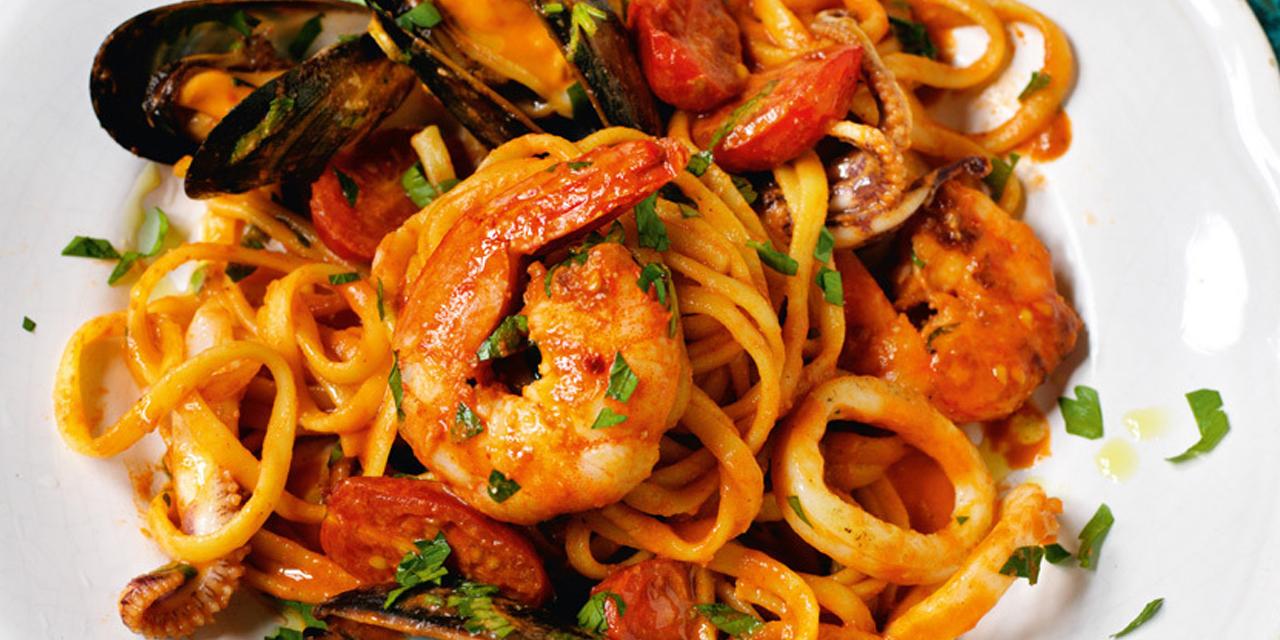 Ricetta spaghetti allo scoglio roba da donne for Cucinare definizione
