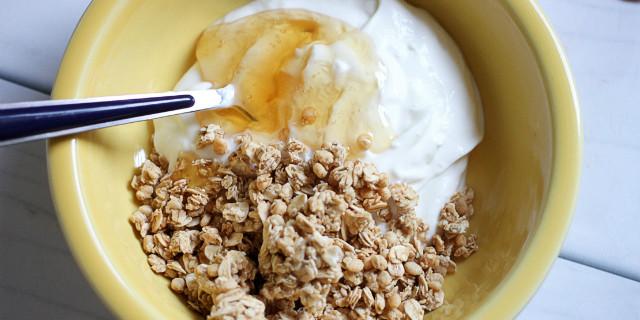 Yogurt greco per iniziare la giornata