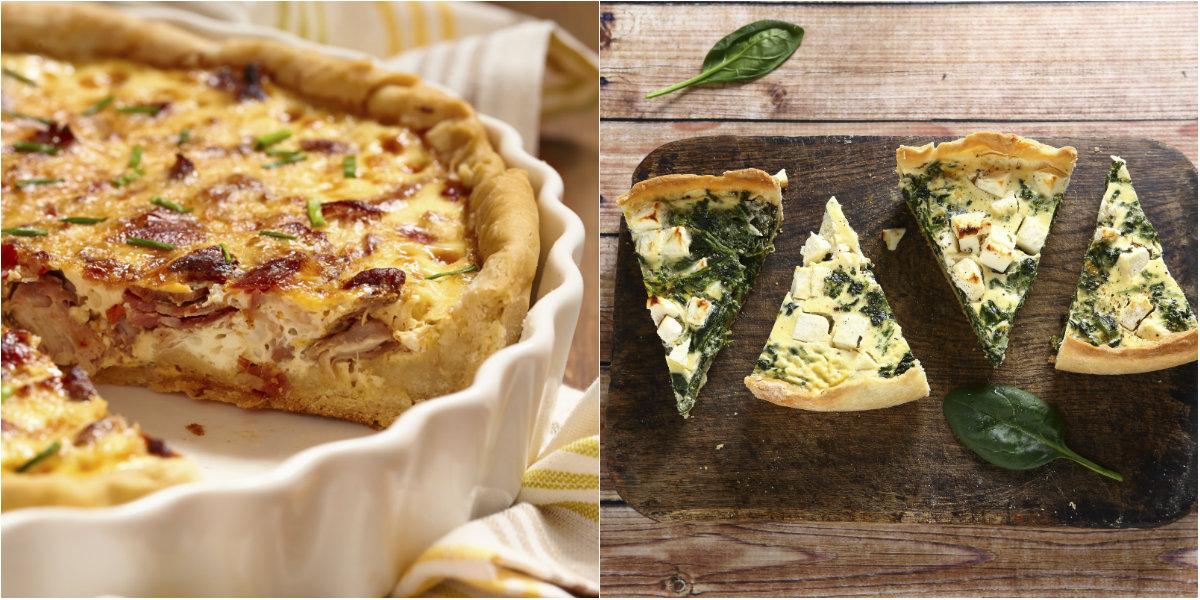 Torte salate: buone, versatili e facili da preparare!