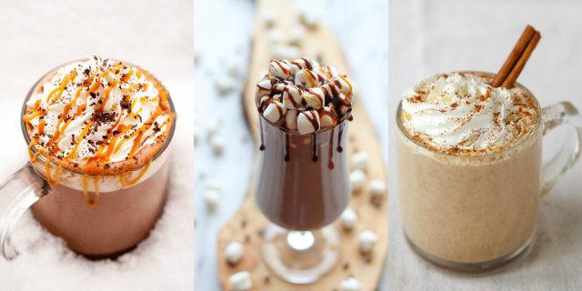 Il bello dell'inverno. 14 modi per preparare una cioccolata calda davvero originale