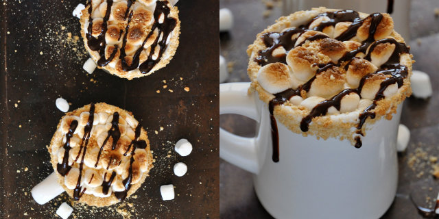 s'more hot chocolate