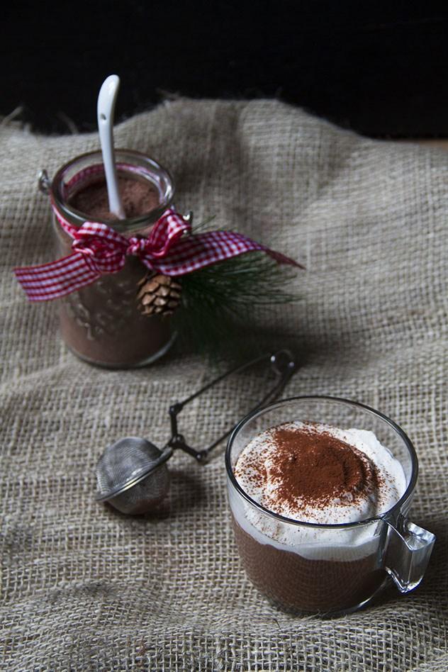 cioccolata calda in vasetto