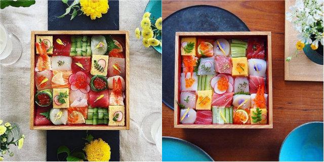 Mosaic sushi: su Instagram il nuovo trend direttamente dal Sol Levante