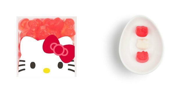 Tutte pazze per le caramelle gommose di Hello Kitty