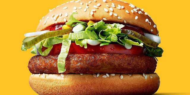 Da McDonald's arriva il panino vegano