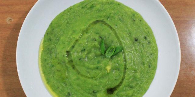 Crema di zucchine