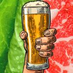 Perché un terzo dei vegetariani mangia carne quando si ubriaca