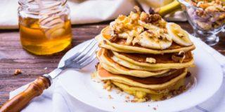 Ricetta Pancakes alle banane