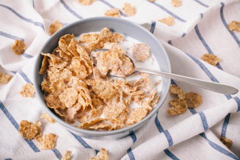 Cereali integrali a colazione