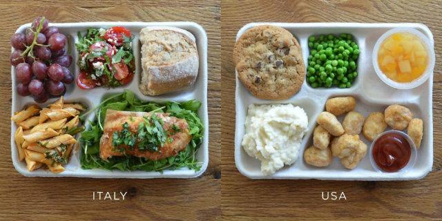 La pausa pranzo a scuola in 9 Paesi del mondo in immagini