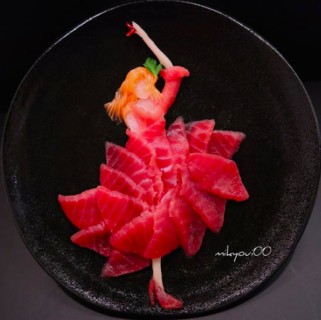 27 sashimi che sono delle opere d'arte