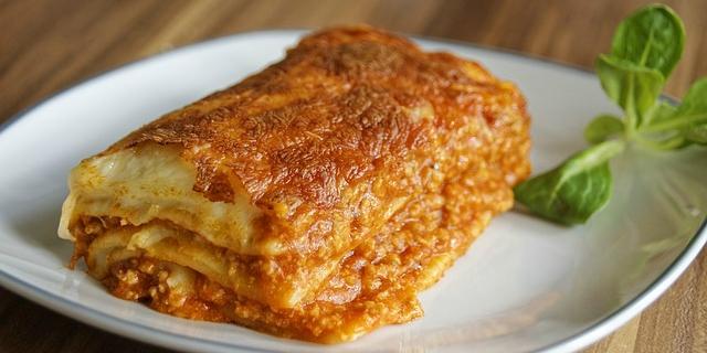 lasagne comfort food