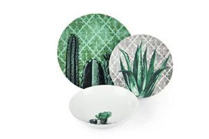 Excelsa Barrio de Cactus Verde e Grigio