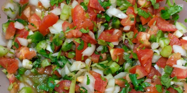 Pico de gallo (salsa messicana)