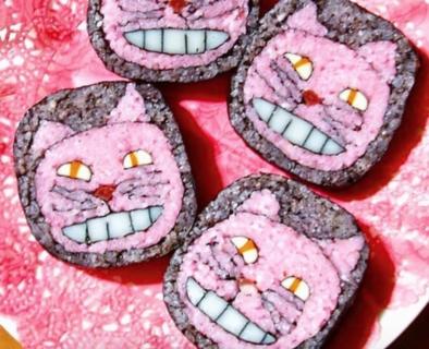 Una riflessione oltre il cibo, ecco i maki sushi d'artista di Tama-chan