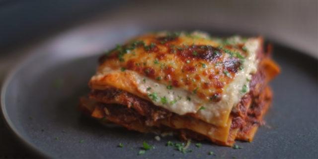 100 ore per preparare la lasagna perfetta: la ricetta dello chef Alvin Zhou