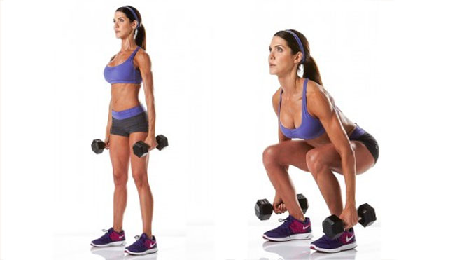 Esercizi per glutei sodi: gli squat