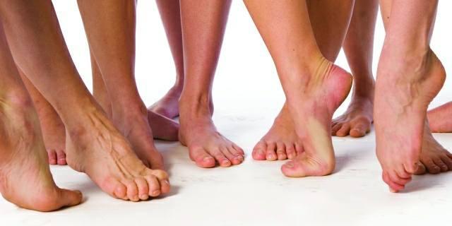 Donne mature piedi