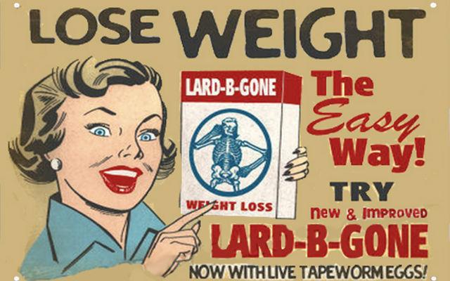 Assurde diete del passato