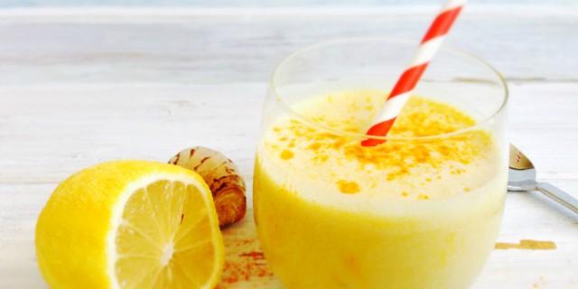 centrifugato dimagrante limone