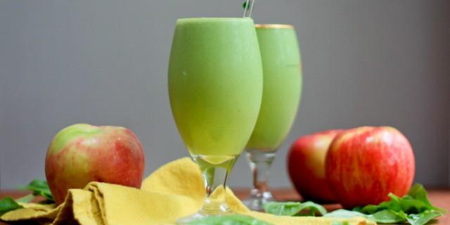 centrifugato dimagrante mela spinaci