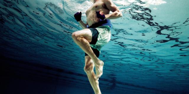 pool running