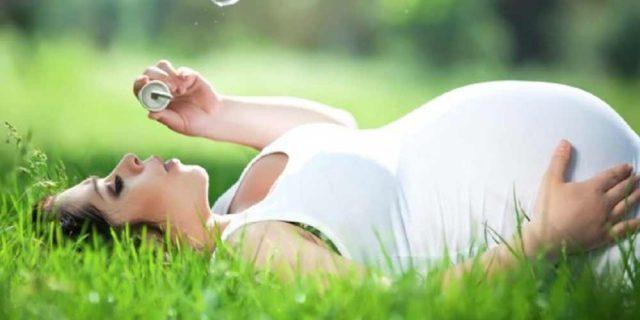 valeriana in gravidanza