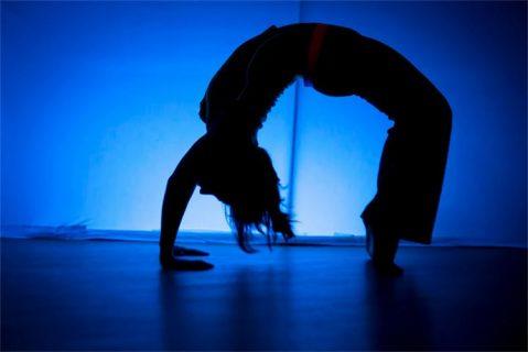 Yoga in the dark