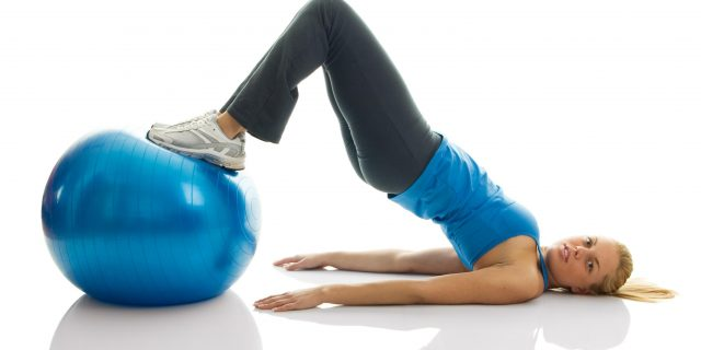 fitball glutei