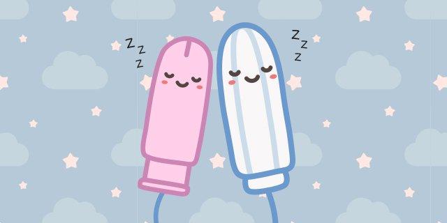 """""""Cosa succede se dormo con un assorbente interno?"""""""