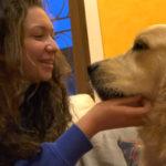 La nuova vita di Chiara con Quincey, cane allerta antidiabete