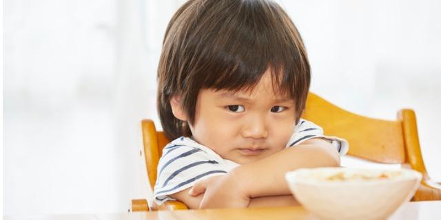 inappetenza nei bambini