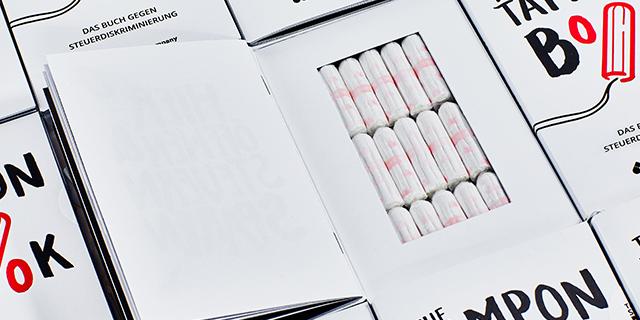 The tampon book: perché se metti gli assorbenti in un libro costano meno