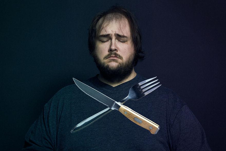 """""""Ho fotografato il cibo che mi stava uccidendo, per salvarmi"""""""