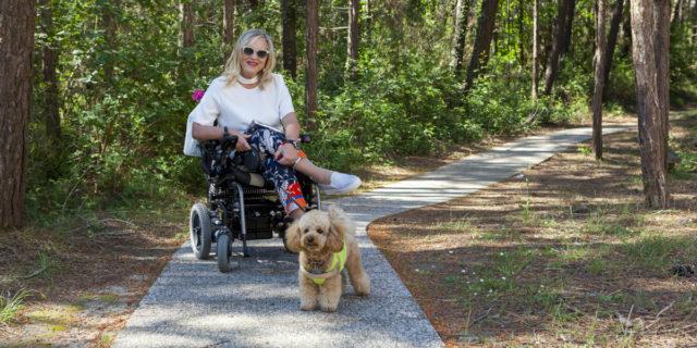 """""""Fino a quando non mi sono ritrovata in sedia a rotelle non notavo queste cose"""""""