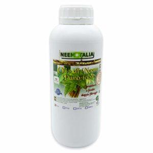 Olio puro di Neem per la pelle, biocertificato Ecocert Biocertitalia spremuto a freddo