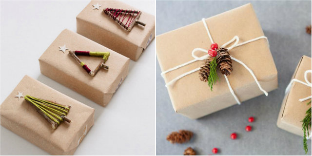 Idee Pacco Regalo Natale.I Pacchetti Di Natale Originali