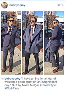 Uomini che si Atteggiano come Ragazzine su Instagram
