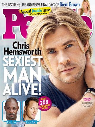 Chris Hemsworth: È Lui L'Uomo Più Sexy Del Pianeta