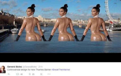 Il Lato B Di Kim Kardashian Diventa Un Meme E Scatena I Social