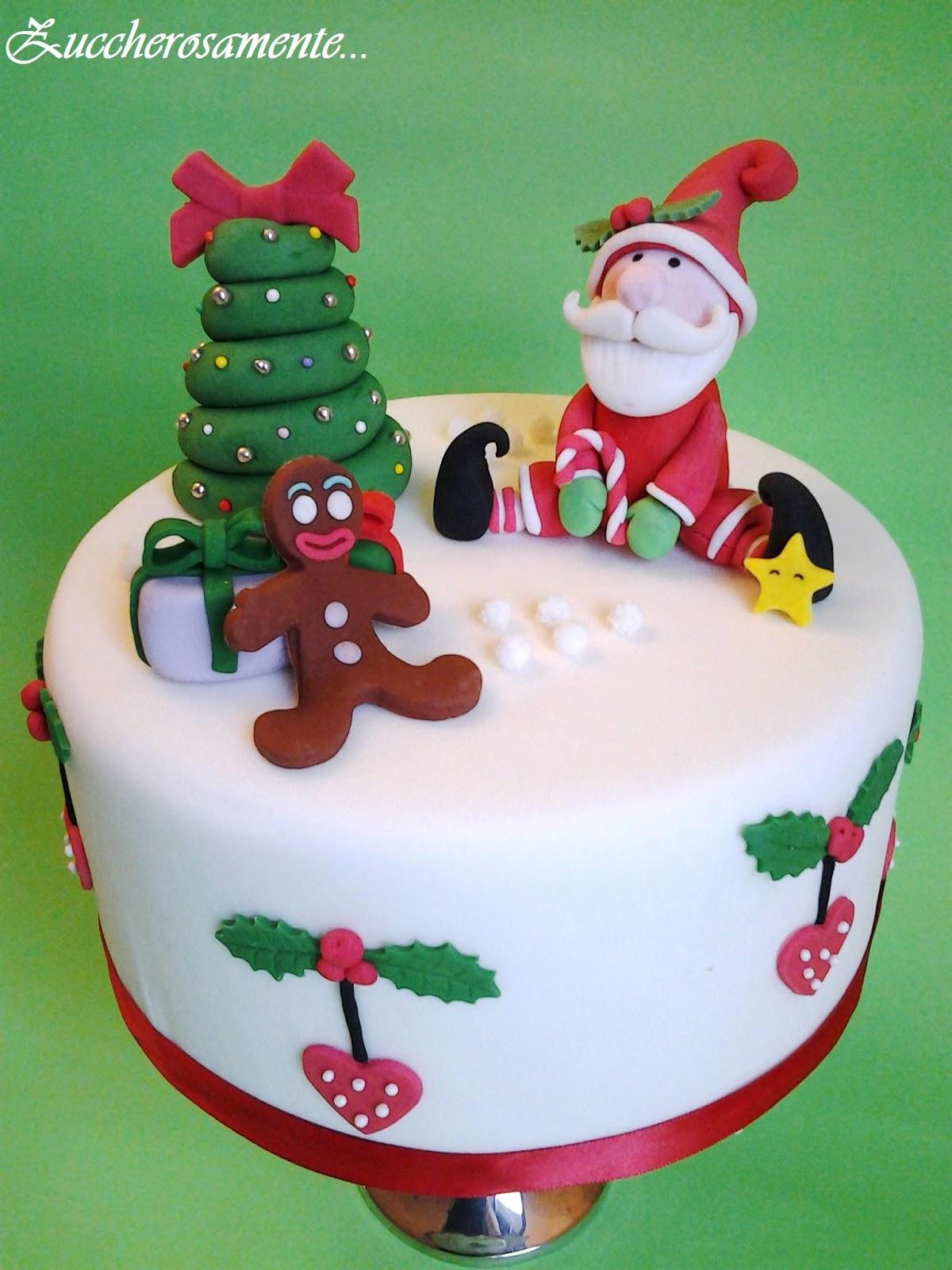 Torte Decorate Per Natale i dolci a tema natalizio