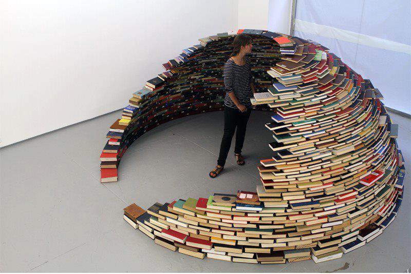 Le Librerie Più Originali (anche Fai-Da-Te)