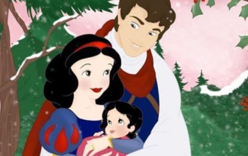 I Teneri Volti dei Figli delle Coppie Disney