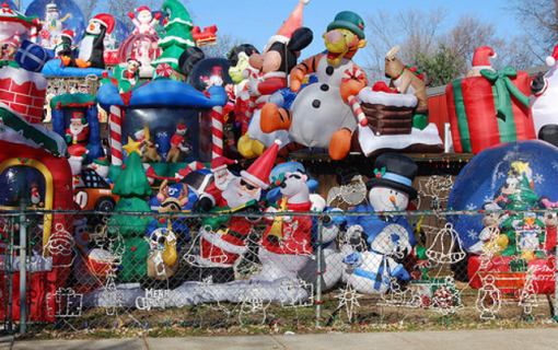 Le folli decorazioni natalizie che ti lasceranno a bocca aperta