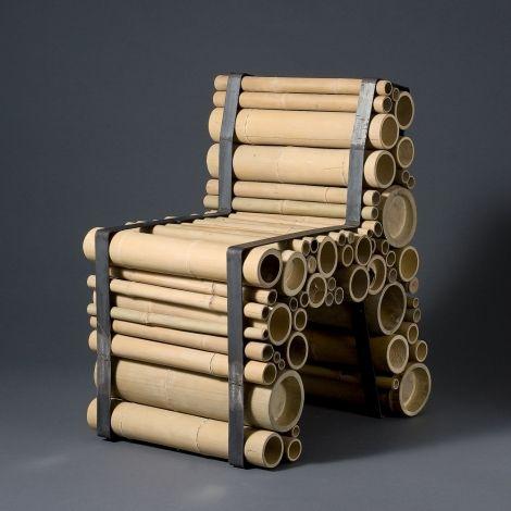 Sedia con tubi di cartone sedie e poltrone dal design for Sedie design furniture e commerce