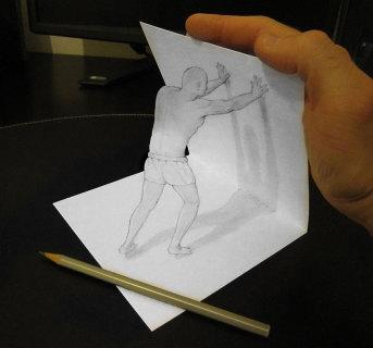 Incredibili Disegni 3D che Sembrano Prendere Vita
