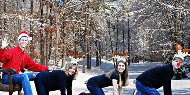 Le più Brutte (e Divertenti) Foto di Natale del Web