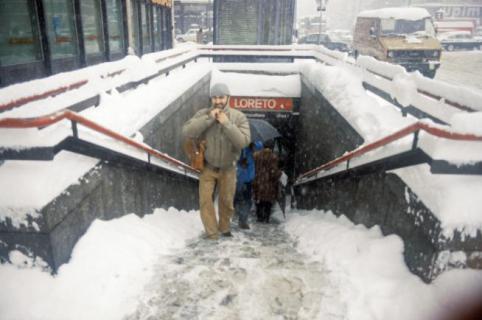 Milano, La Nevicata del 1985