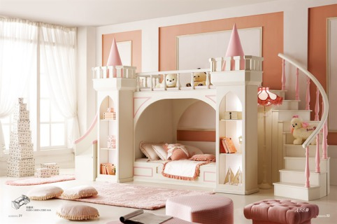 30 camerette da sogno per piccole principesse   roba da donne