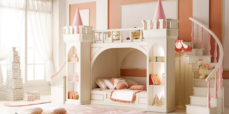 30 camerette da sogno per piccole principesse - roba da donne - Letto Carrozza Disney